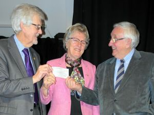 Art Group Dementia cheque Feb 2016