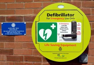 Defibrillator instructions