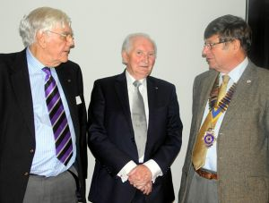 Geoff Tabbron with Richard taylor and Neale Clark