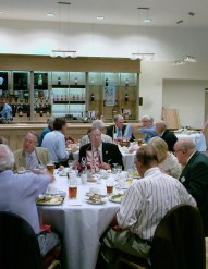 Members dining at our new home at New Brookhouse Club