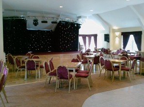 New Brookhouse Club and the stage