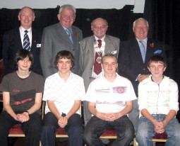 Outward Bound Youth Ambasadors 2008 with Rotarians