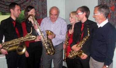 Sax quartet May 2012