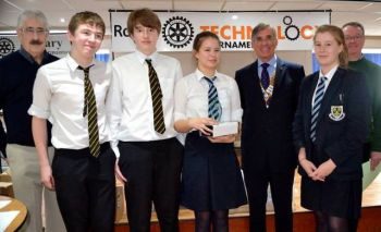 Technology Tournament intermediate class winners