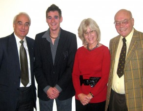 William Smith, Matthew Smith, Sue Parkin and David Pickover