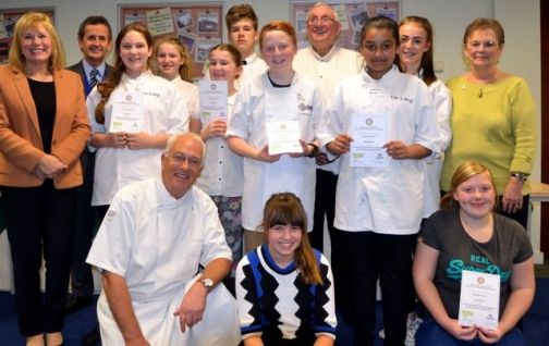 Young Chef 2014 contestants